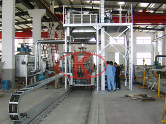 minor-caliber stainless steel tube inner wall shot peening equipment
